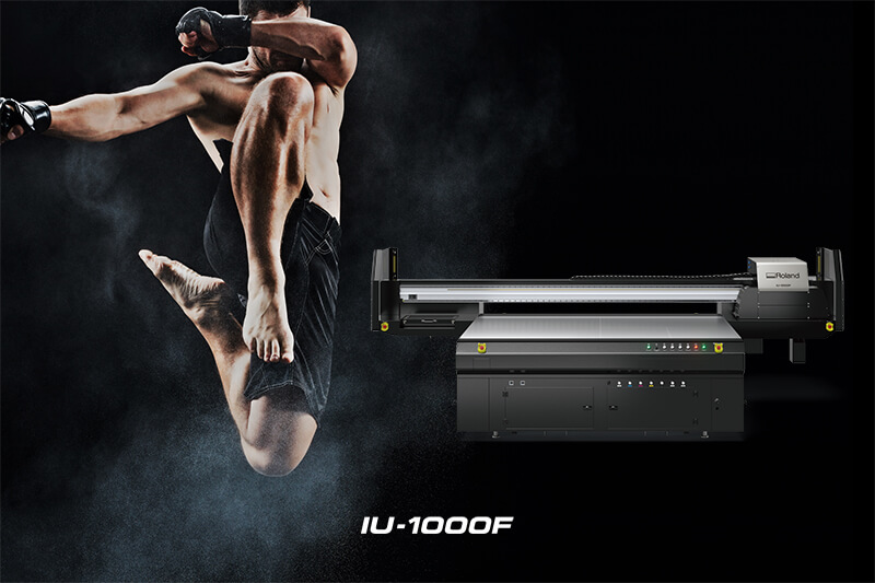 IU-1000F Large Format UV-LED Flatbed Printer